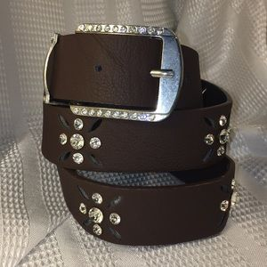 Bedazzled belt, excellent condition, worn once